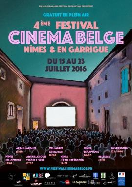 Affiche belge Agités net